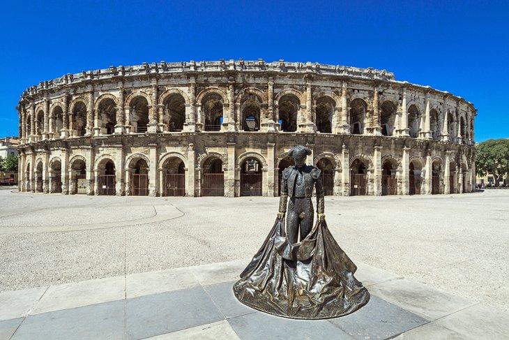 Version Paysage Nîmes
